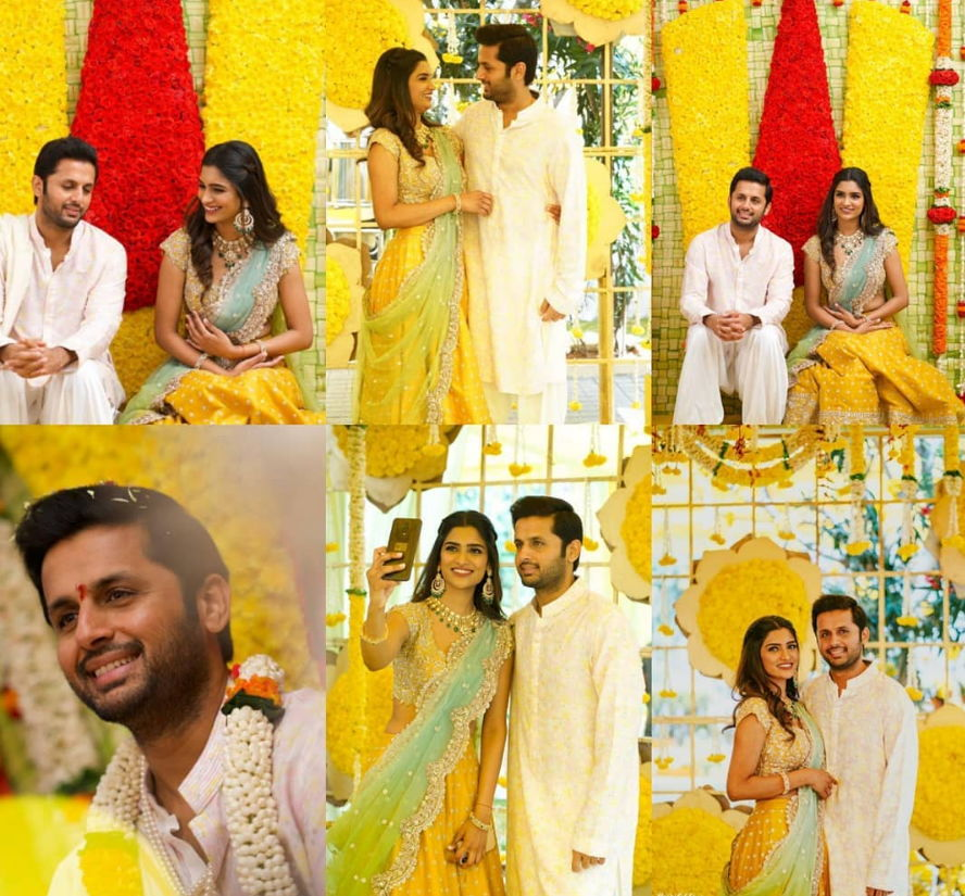 Nithin-Engagement-pics