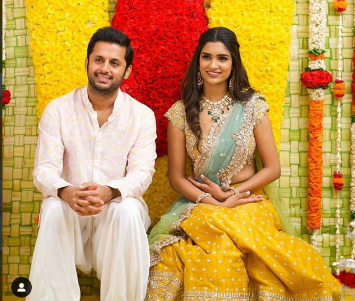Nithin-engangement-pics