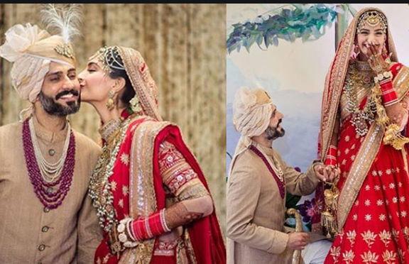 Sonam-Kapoor-with-her-husband
