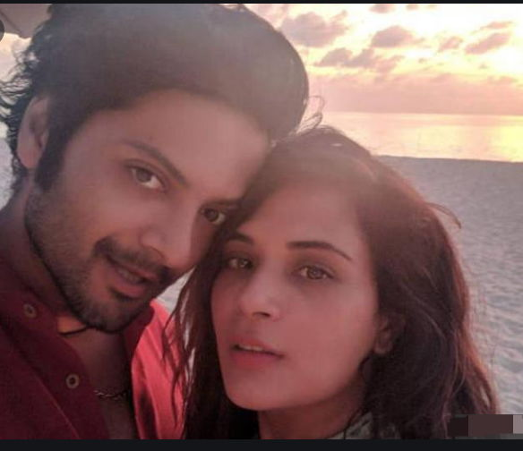 richa-chadda-with-husband-ali-fazal