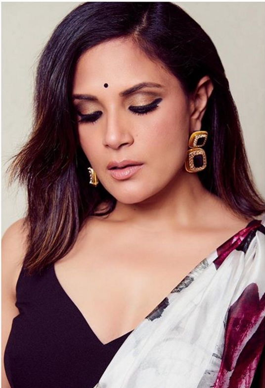 Richa-chadda-in-saree