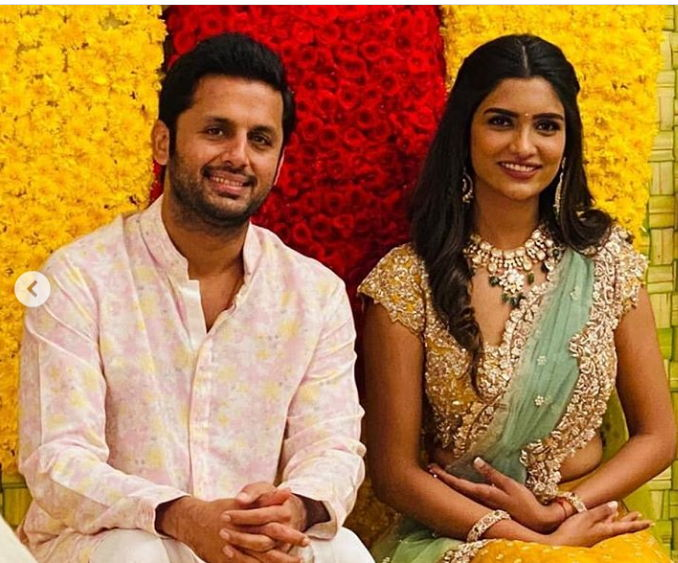 Shalini-Reddy-with-her-husband-Nithin