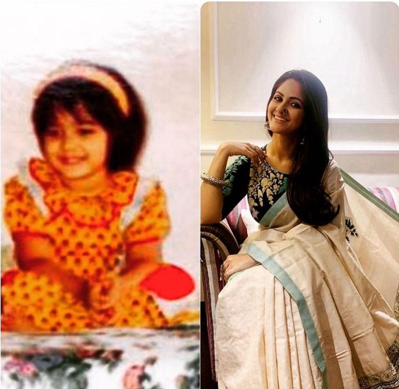 Trina-saha-childhood-photo