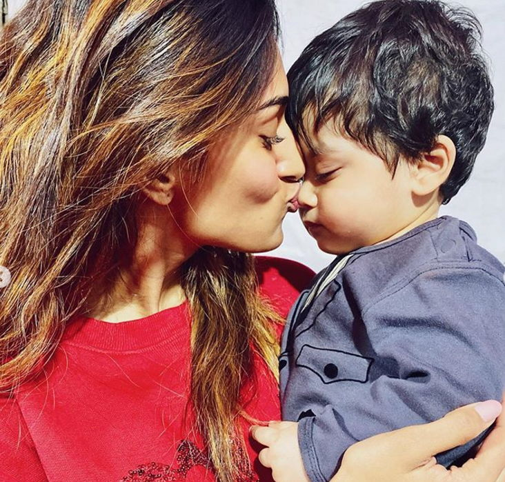 erica-fernandes-with-brother-son
