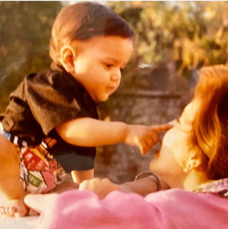 Miheeka-BAJAJ-childhood-photo