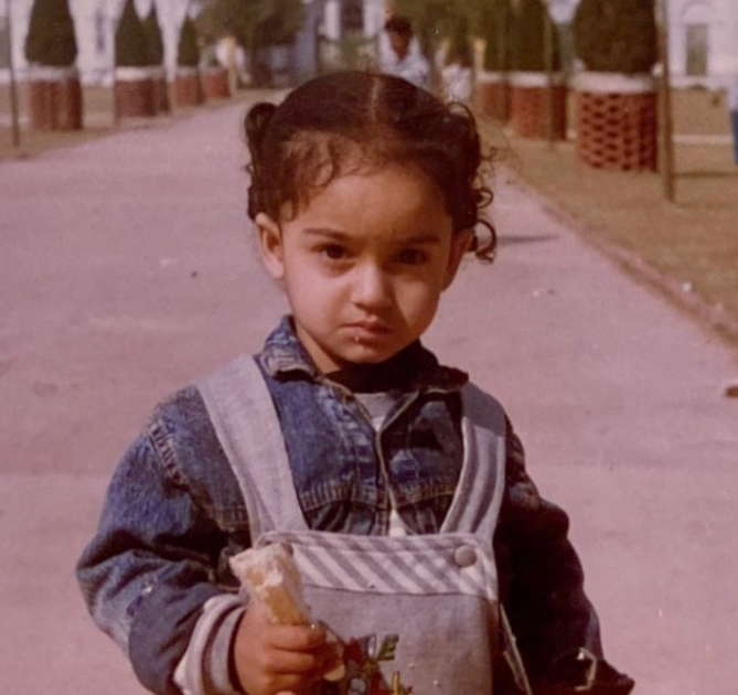 Tridha-Choudhury-childhood-photo