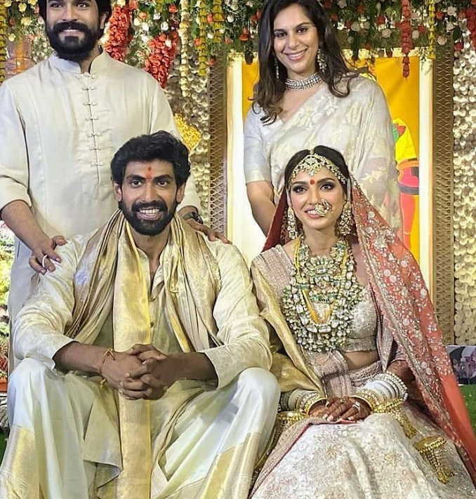 Miheeka-bajaj-and-rana-daggubati-marriage-photos